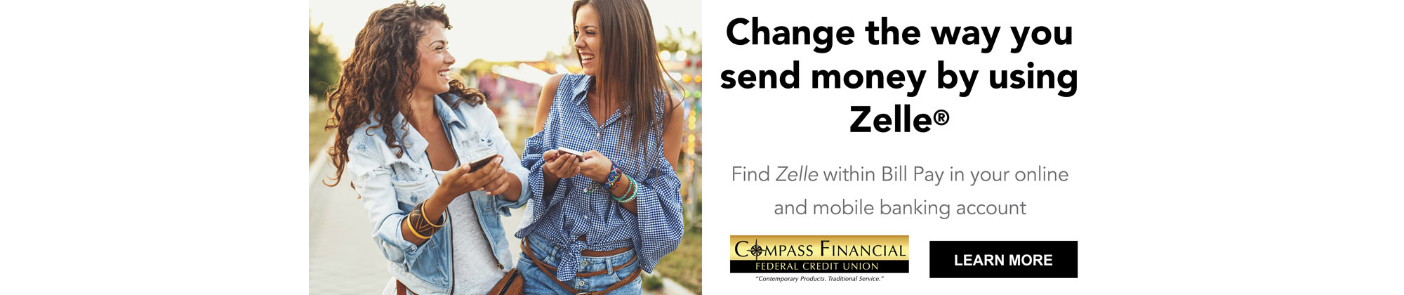 Zelle makes sending money to friends, family, and others you know fast, safe, and easy.